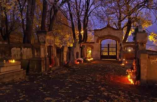 Old Jewish cemetery in Podgorze